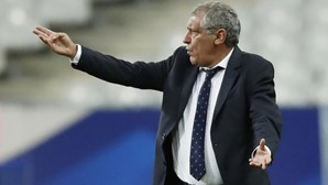 Fernando Santos soma 75.º jogo como selecionador em Saint-Denis e supera Luiz Felipe Scolari