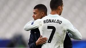 França é a seleção que Ronaldo mais vezes defrontou sem marcar