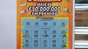 Apostador compra raspadinha de cinco euros e ganha 100 mil