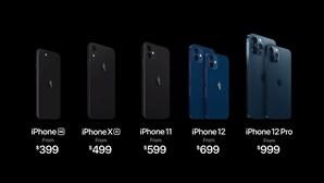 Os preços, as especificações e as surpresas: Estas são as novidades de todos os modelos do iPhone 12