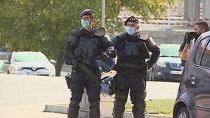 PSP recebe alerta para gang encapuzado... que gravava videoclipe na Amadora