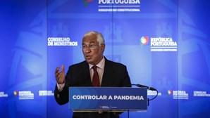 Costa admite agravamento de medidas caso a situação pandémica piore