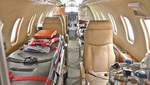 CR7 volta a Itália em avião especial