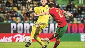 Seleção Nacional vence Suécia sem Ronaldo
