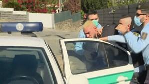 Veja as imagens da detenção de André 'Pirata'