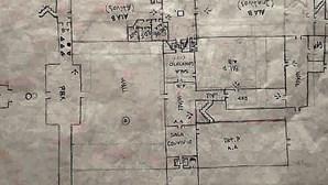 Mapa da prisão apreendido a recluso em cela na Cadeia do Linhó