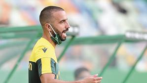 Rúben Amorim suspenso seis dias por expulsão durante jogo do Sporting frente ao FC Porto