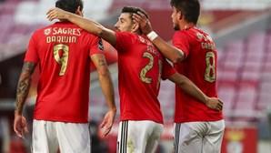 Benfica reforça favoritismo na conquista da Liga