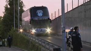 FC Porto já está no Estádio de Alvalade para defrontar o Sporting no primeiro Clássico da época