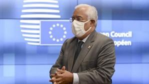 """António Costa considera """"excelente indicador"""" a abstenção do PCP ao Orçamento do Estado de 2021"""
