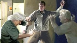 Ameaça enforcar pai idoso com corda em Abrantes
