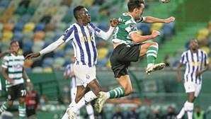 Empate justo do Sporting e FC Porto em jogo com VAR polémico