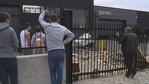 Pai e filho escapam a violenta explosão em Guimarães