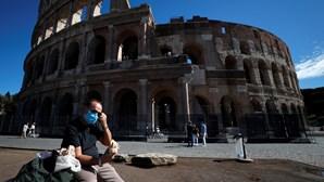 Itália regista novo recorde diário de infeções por coronavírus com 11.705 novos casos e 69 mortes