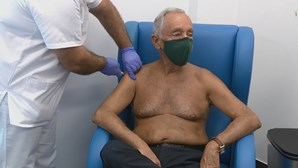 "Presidente da República vacina-se contra a gripe para ""dar o exemplo"""