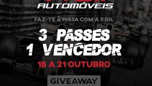 Empresa de ramo automóvel promove passatempo para o GP de Portugal de F1