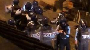 Agente ferido e dois detidos em operação da PSP para travar festa na Cova da Moura