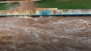 Inundações em Cabeço de Vide, no Alentejo