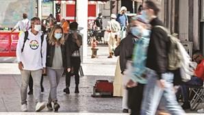 Maioria dos portugueses concorda com restrições atuais para travar pandemia