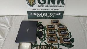 GNR apanha droga em pacotes com 'selo' de refrigerante
