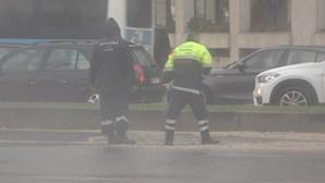 Mais de mil ocorrências registadas em Portugal continental na terça-feira devido ao mau tempo