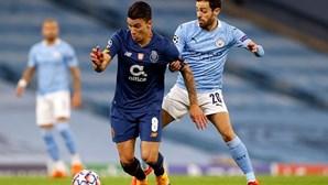 FC Porto perde por 3-1 contra o Manchester City e deixa escapar primeiros pontos na Liga dos Campeões