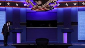 Trump testa negativo à Covid-19 antes do último debate frente a Biden