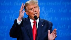 O último frente a frente de Trump e Biden antes das eleições presidenciais nos EUA