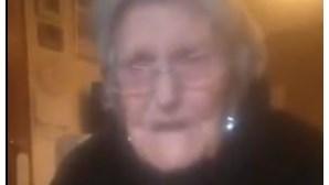 """""""O tempo está a passar para mim"""": Idosa de 104 anos implora para ver a família antes de morrer"""