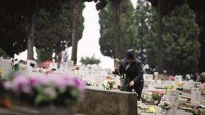 Cemitérios em Lisboa abertos no fim de semana mas com controlo de entradas