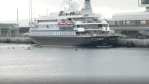 Sete meses depois os navios cruzeiro voltam à Madeira