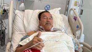 Schwarzenegger operado pela terceira vez ao coração aos 73 anos