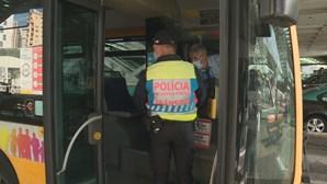 Transportes rodoviários reduzidos na Área Metropolitana de Lisboa durante o encerramento das escolas
