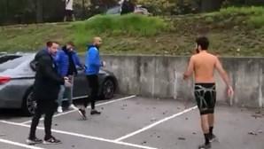 Fernando Madureira 'macaco' filmado em combates de rua. Veja as imagens