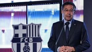 Presidente do Barcelona apresenta demissão