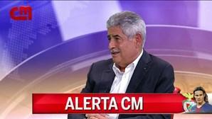 """Luís Filipe Vieira: """"Contratámos o Cavani mais novo e que será o futuro"""""""