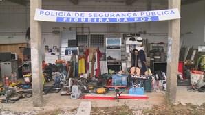 PSP recupera 350 artigos furtados