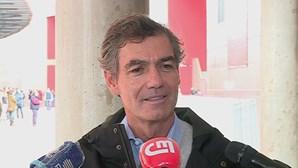 """""""Voto físico tem de ser contado"""": Noronha Lopes já votou em dia de eleições no Benfica"""