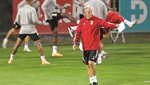 Jorge Jesus muda para jogo com o Standard