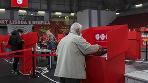 Vieira reeleito presidente do Benfica com 62,59% dos votos