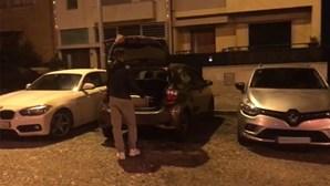 Votos das Casas do Benfica transportados em veículos descaracterizados