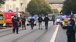 Detido suspeito de ataque à faca em Nice
