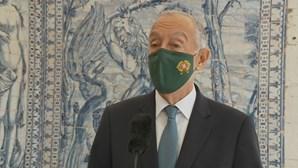 Eventual Estado de Emergência será por proposta de outro órgão de soberania, diz Marcelo Rebelo de Sousa