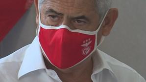 Luís Filipe Vieira infetado com Covid-19 tem dores e tosse