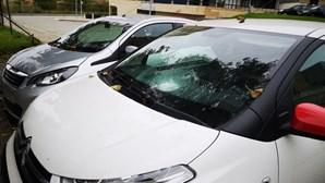 PSP investiga cinco viaturas vandalizadas no Porto. Veja as imagens