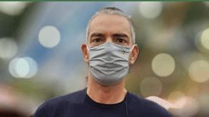 Cláudio Ramos assume inseguranças com a pandemia