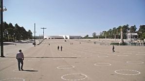 Santuário de Fátima está pronto para a última peregrinação deste ano. Recinto de oração só poderá acolher seis mil fiéis. Ficam disponíveis cerca de oito metros quadrados por pessoa