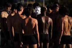 Performance de Nuno Gama na ModaLisboa