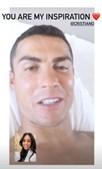 'És a minha inspiração': Georgina mostra-se em videochamada com Cristiano Ronaldo que está infetado com Covid-19