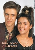 Tony Lemos e a irmã Marlene
